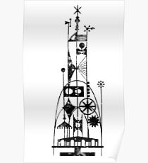 64/65 World's Fair - Tower of the Four Winds Poster
