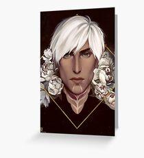 Dragon Age: Fenris Greeting Card