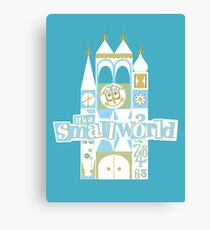 it's a small world! Canvas Print