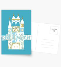 it's a small world! Postcards