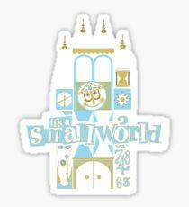 Es ist eine kleine Welt! Sticker