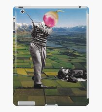 Back to the ground iPad Case/Skin