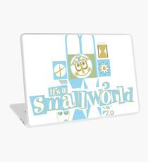 it's a small world! Laptop Skin