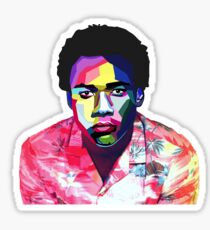 CHILDISH GAMBINO Sticker