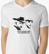 Butch Cassidy and the Sundance Kid Men's V-Neck T-Shirt