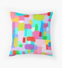BUBBLEGUM DREAM Throw Pillow