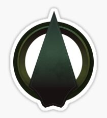The Arrow Sticker