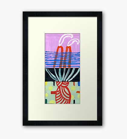tiny art 1 Framed Print