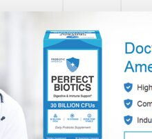 http://www.optimalnutritions.com/perfect-biotics Sticker