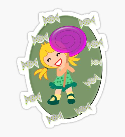 Lollipop Girl  (13675 views) Sticker