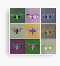 Moths 1 Metal Print