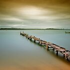 Old jetty 0010 by kevin chippindall