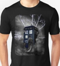 Lightning Blue Box Unisex T-Shirt