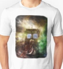 Fantasy Fog Blue Box Unisex T-Shirt