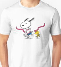snoopy-running Unisex T-Shirt