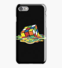 Rubik's Cube Melted Cubes iPhone Case/Skin