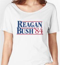 REAGAN Bush 1984 Women's Relaxed Fit T-Shirt
