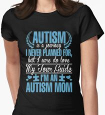 Autism Is Journey I Never Planned For, But I Sure Do Love My Tour Guide. I'm An Autism Mom T-Shirt