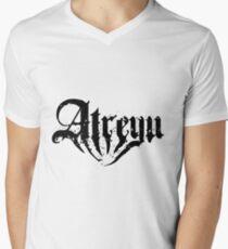 Atreyu T-Shirt mit V-Ausschnitt