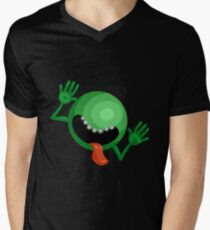 The Hitchhiker's Guide to the Galaxy - Dont Panic  Men's V-Neck T-Shirt