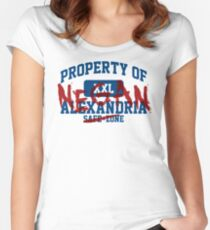 Property of Negan Women's Fitted Scoop T-Shirt