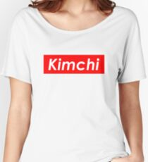 Kimchi 김치 Women's Relaxed Fit T-Shirt