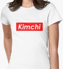 Kimchi 김치 Women's Fitted T-Shirt