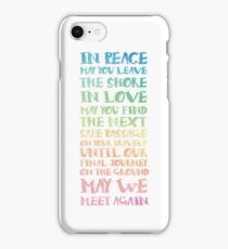 The Travellers Prayer iPhone Case/Skin