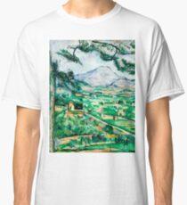 1887 - Paul Cezanne - Mont Sainte-Victoire Classic T-Shirt