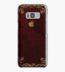 Apple Antique Leather Book Cover  Samsung Galaxy Case/Skin