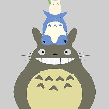 My Neighbor Totoro by 9999DamagePoint