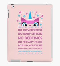 Rules By Princess Unikitty (UK Version) iPad Case/Skin