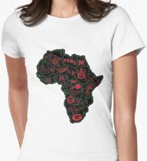 HBCU Roots Women's Fitted T-Shirt