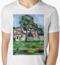 1888 - Paul Cezanne - Banks of the Marne T-Shirt