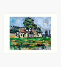 1888 - Paul Cezanne - Banks of the Marne Art Print