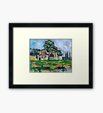1888 - Paul Cezanne - Banks of the Marne Framed Print