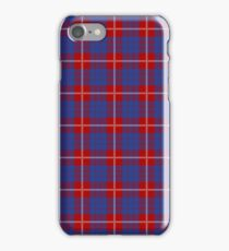 Clan Hamilton Tartan iPhone Case/Skin