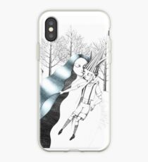 The Fairy with Turquoise Hair iPhone Case