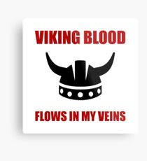 Viking Blood Metal Print