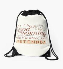Tnetennba in the Morning Drawstring Bag