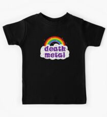 Death Metal Rainbow Kids Tee