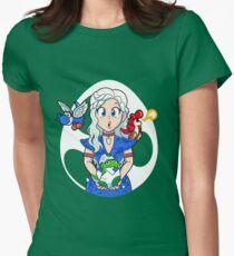 Prehistoric Princess Peach Womens Fitted T-Shirt