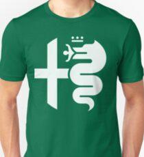 White Alfa Romeo of Birmingham Logo Unisex T-Shirt