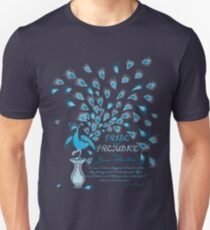 Paisley Peacock Pride and Prejudice: Classic Unisex T-Shirt