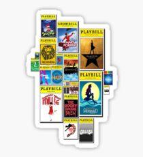 Playbill, Duh! Sticker