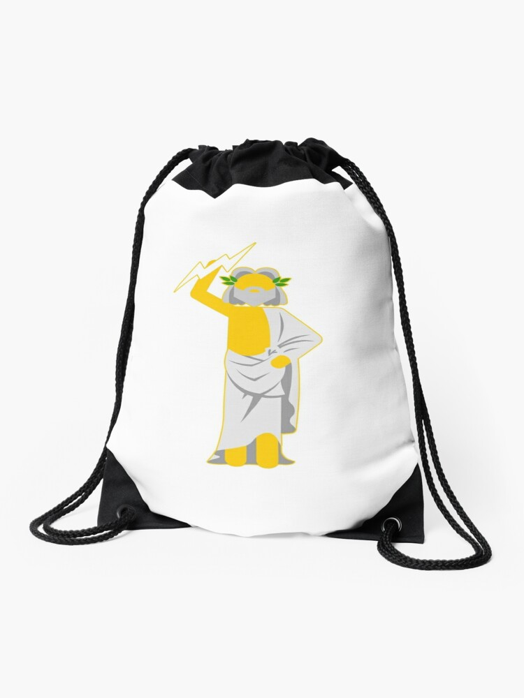 Simple Gods Zeus Drawstring Bag