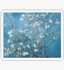 Vincent van Gogh - Zweige mit Mandelblüte Sticker