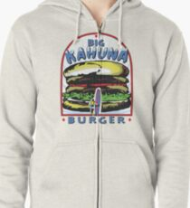 Big Kahuna Burger t-shirt (Pulp Fiction, Tarantino, Bad Motherf**ker) Zipped Hoodie