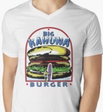 Big Kahuna Burger t-shirt (Pulp Fiction, Tarantino, Bad Motherf**ker) Men's V-Neck T-Shirt