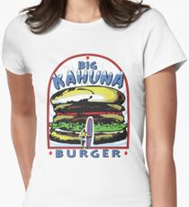 Big Kahuna Burger t-shirt (Pulp Fiction, Tarantino, Bad Motherf**ker) Womens Fitted T-Shirt